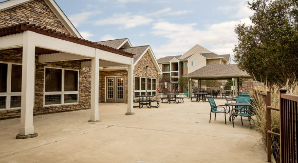 Waco Apartment Patio