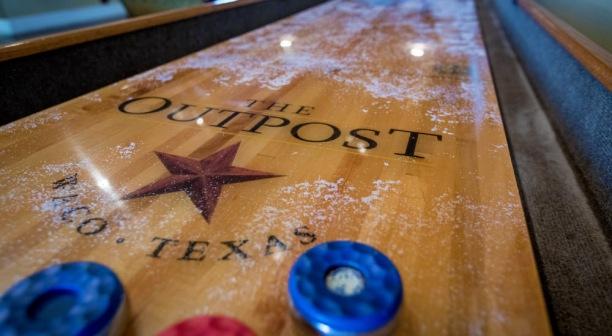 Shuffleboard in Waco